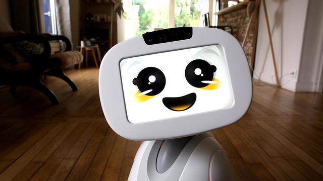 家里交给机器人Buddy 在外一切都放心了