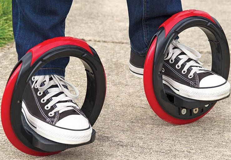 """一个没有板的滑板,骑上它却可以""""横""""着走"""