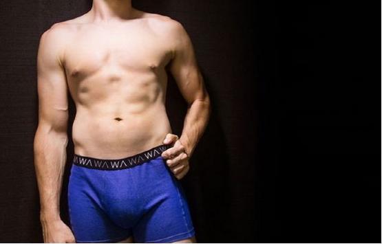 这条智能内裤能保护男性生殖能力免受辐射