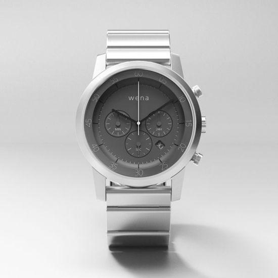 索尼为新款高端智能手表Wena Wrist众筹