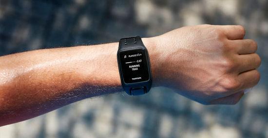 TomTom全新Spark健身智能手表配置音乐储存空间