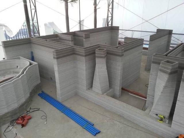 3D打印房屋和酒店问世 可降低建造成本60%