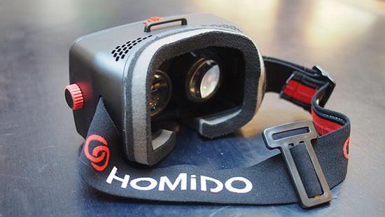 谷歌纸板眼镜的高级版—Homido