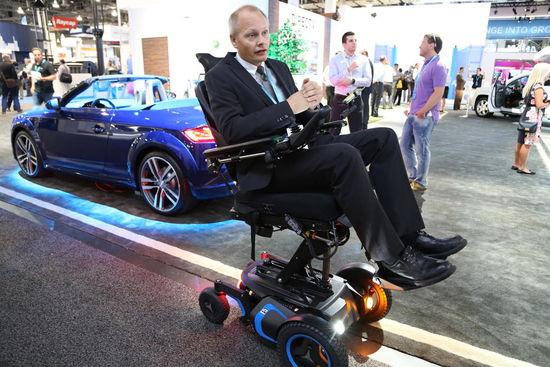 """""""智能""""轮椅发送维修通知、健康警报"""