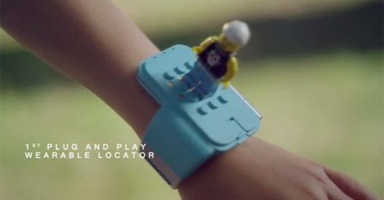 C-Way:结合乐高积木的儿童智能手表