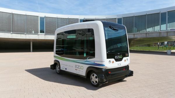 首个公共交通的无人驾驶汽车 Wepod 要在荷兰上路啦