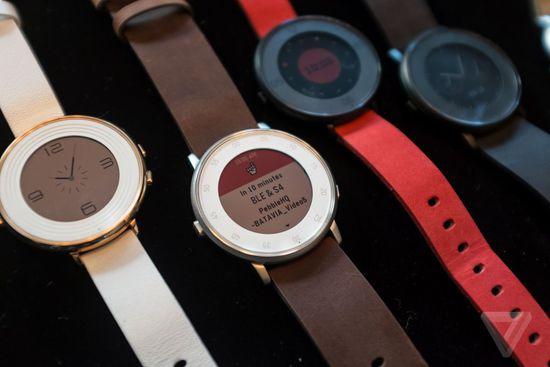 Time Round:Pebble首款圆形智能手表