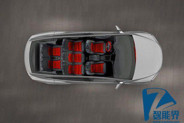 续航里程为413km 特斯拉Model X正式发布高清图片