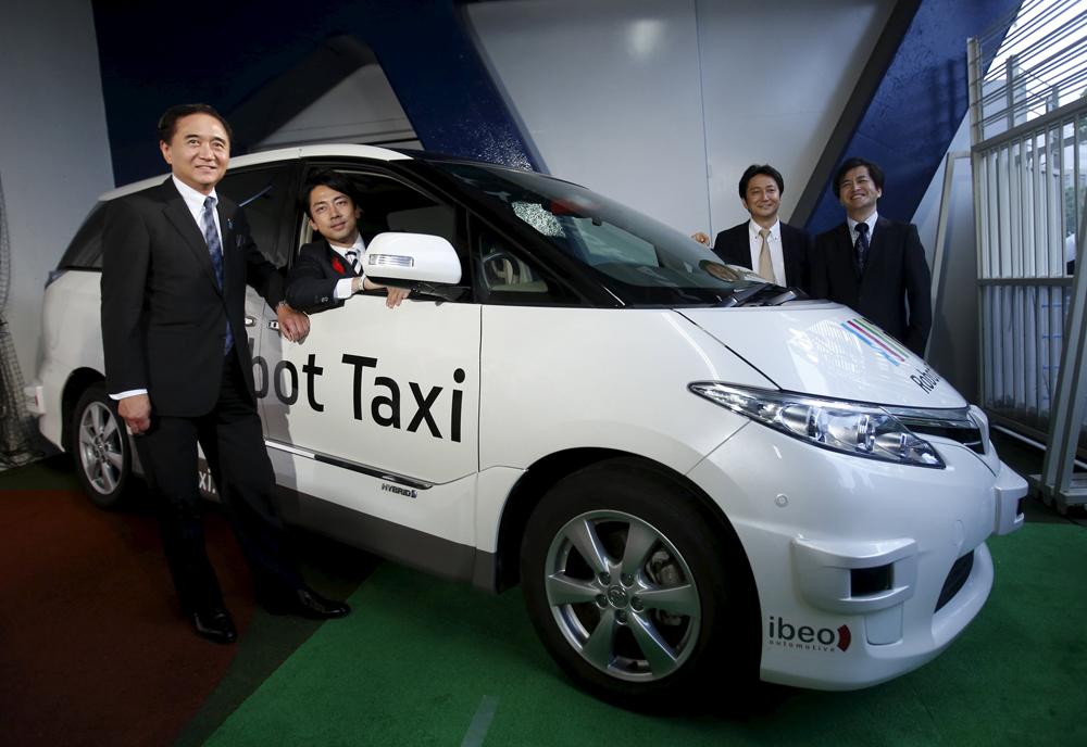 日本无人驾驶汽车公司 Robot Taxi 将于 2016年 初测试无人驾驶出租车业务