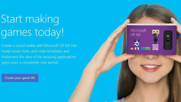 微软与谷歌扛上了 微软推时尚Cardboard