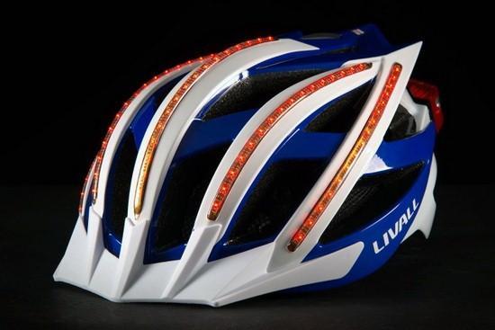Livall Bling Cycling:可接电话的自行车头盔