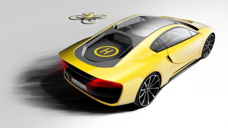 Rinspeed 推自动驾驶概念跑车