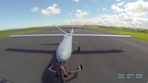 """""""守望者""""成首架进入英国民用航空领域的无人机"""