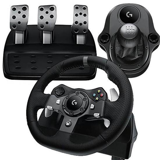 罗技G920游戏方向盘试玩:让你重新会开车