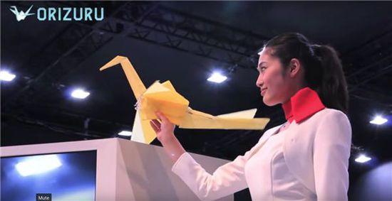 会飞的千纸鹤:日本3D打印千纸鹤无人机