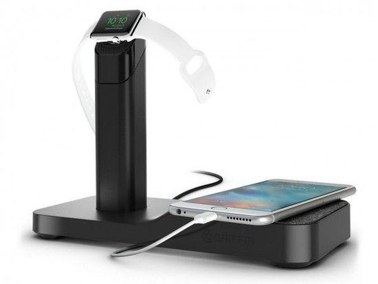 Griffin发布Apple Watch和iPhone联合充电支座