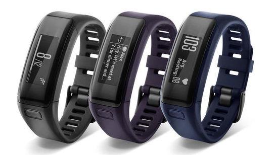 Garmin推出新的健身追踪器,内置心率传感器