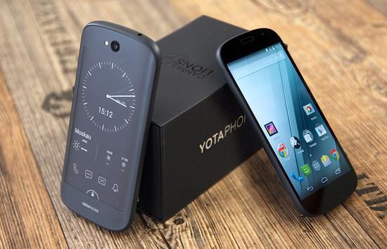 普京送给习大大的YotaPhone明年将推出第3代