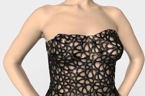 私人订制时代 全球第一件4D打印裙诞生