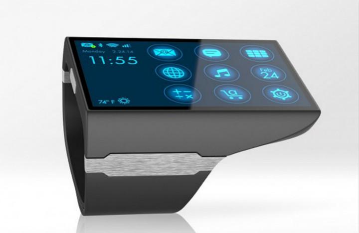 """人们最终会抛弃手机,使用这款""""平板手表""""?"""