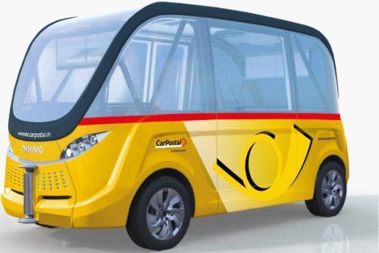 全球首辆无人驾驶公交车明年春在瑞士问世