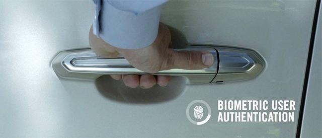 Synaptics汽车触觉技术 门把手可识别指纹