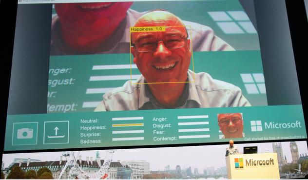 微软出识别人脸表情的技术