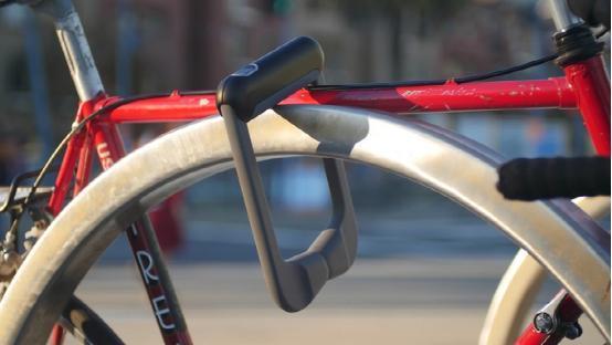 高大上 Grasp Lock智能车锁可用指纹锁自行车