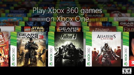 共104款 微软公布首批兼容Xbox One的360游戏