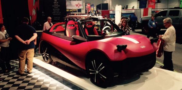53000美元的3D打印汽车,你会买吗?