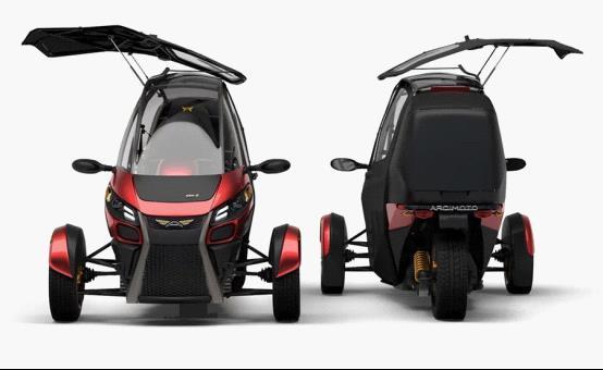 Arcimoto SRK电动汽车发布 汽车/摩托车混合