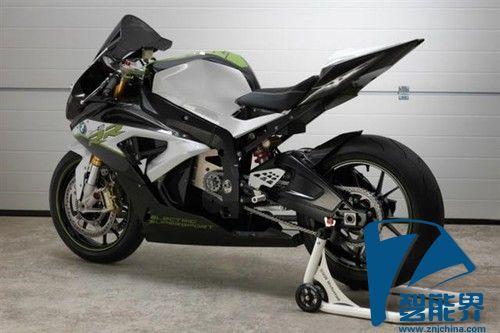 超有范的宝马纯电动超级摩托车亮相
