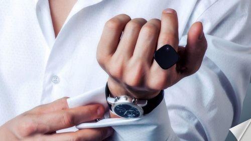 智能手环手表都弱爆了!首款智能戒指亮相