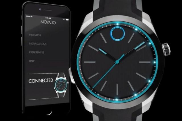 奢华传统手表Movado 与HP推出智能手表