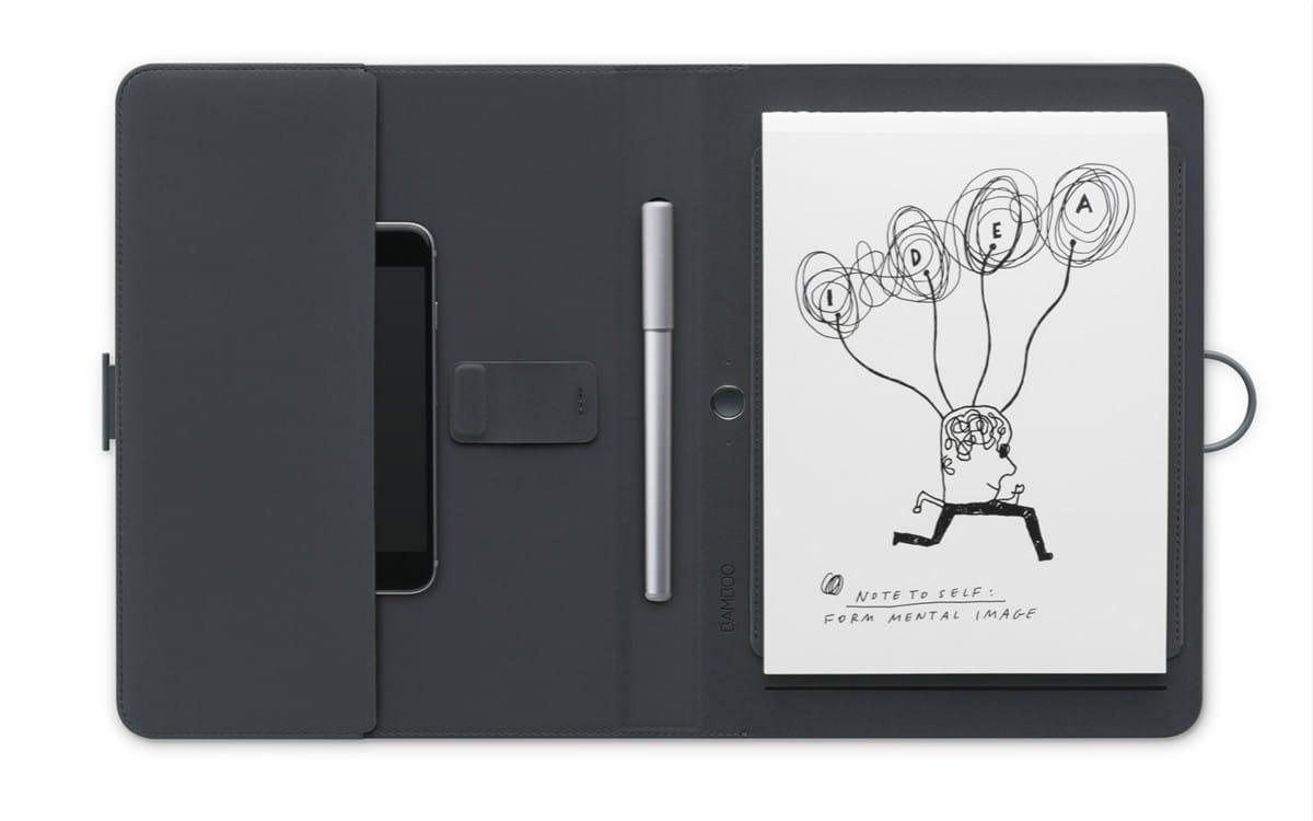 Bamboo Spark 数位本:一键将纸上所写上传云端