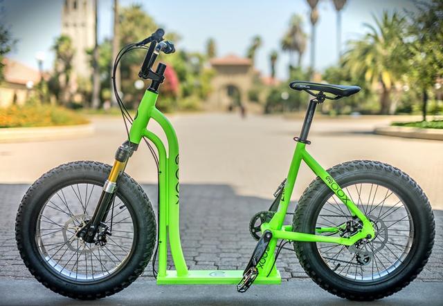 Moox Bike登陆众筹 是自行车也是滑板车
