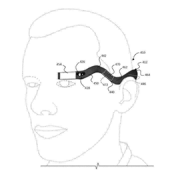 丑哭了,新一代谷歌眼镜可能长这样