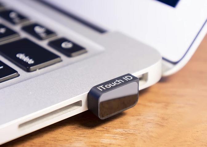 省去记密码输密码的麻烦,世界上最小的 USB 指纹扫描器:iTouch ID
