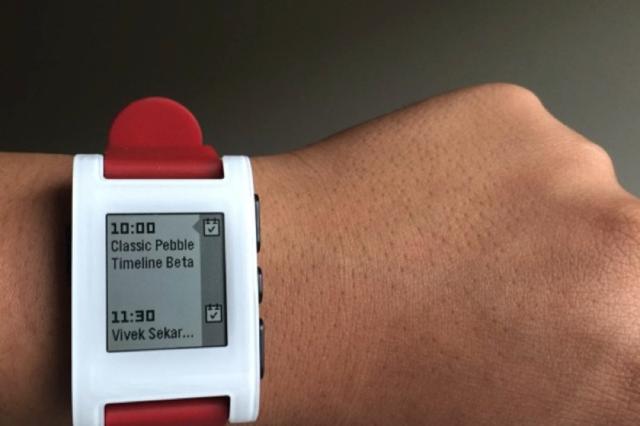 第一代Pebble终于加入Timeline界面了
