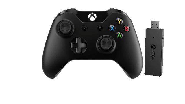 微软发布Xbox One手柄无线适配器套装