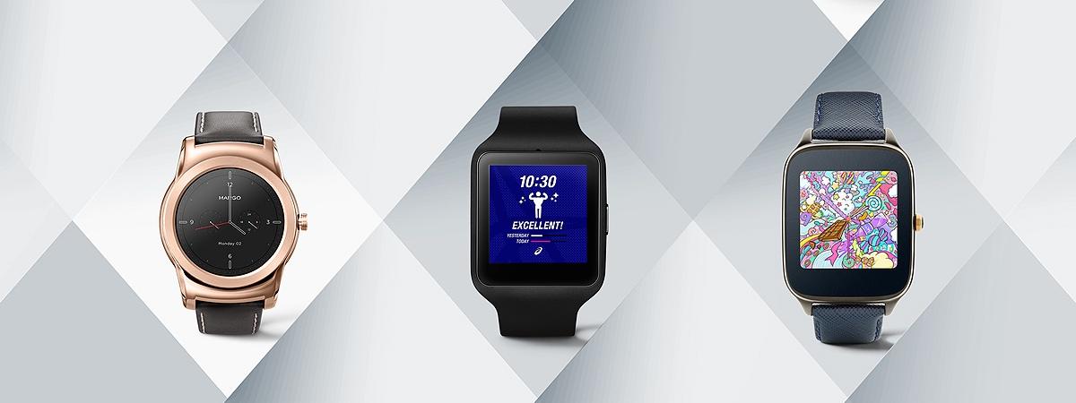 Google 联手时尚品牌推出一系列 Android Wear 设计表盘