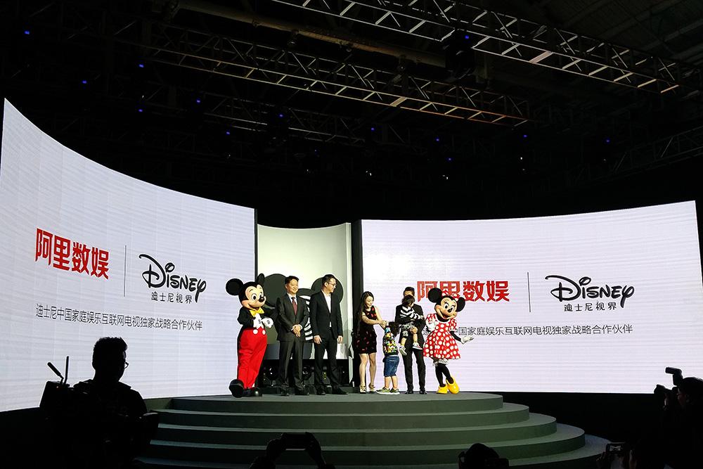 阿里数娱发布迪士尼视界:专为儿童打造 售799元