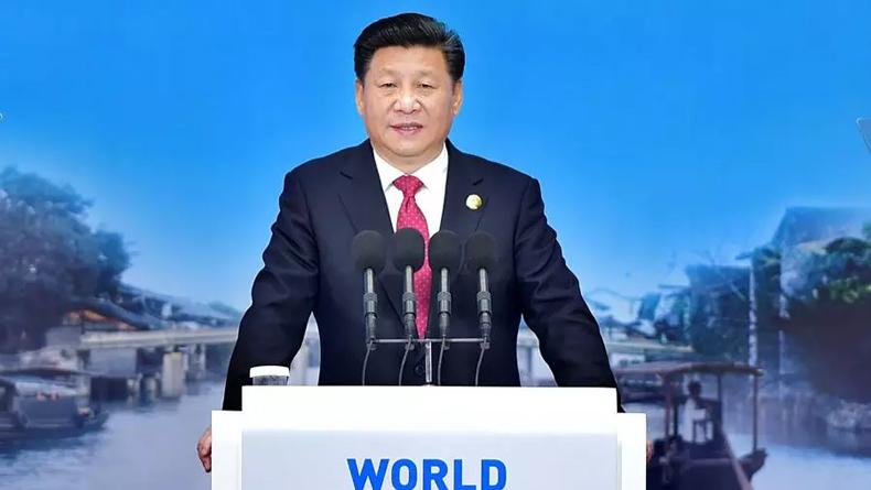 习近平:只要遵守中国法律,我们热情欢迎各国企业和创业者在华投资兴业