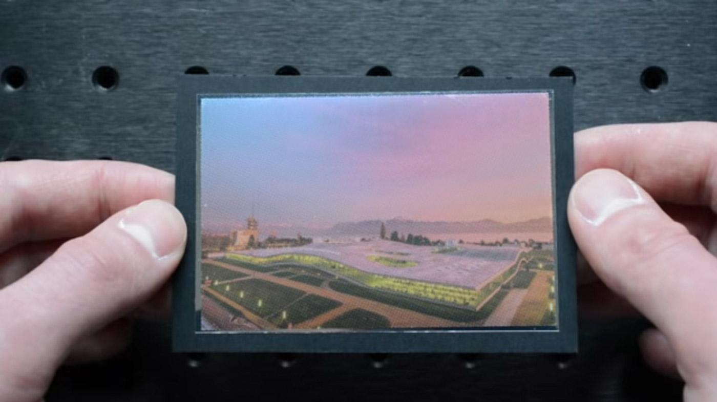 洛桑理工开发出一种从不同角度看会显现不同影像的打印技术