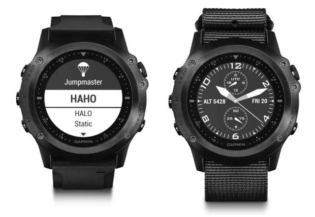 Garmin发布新款Tactix Bravo军用GPS手表