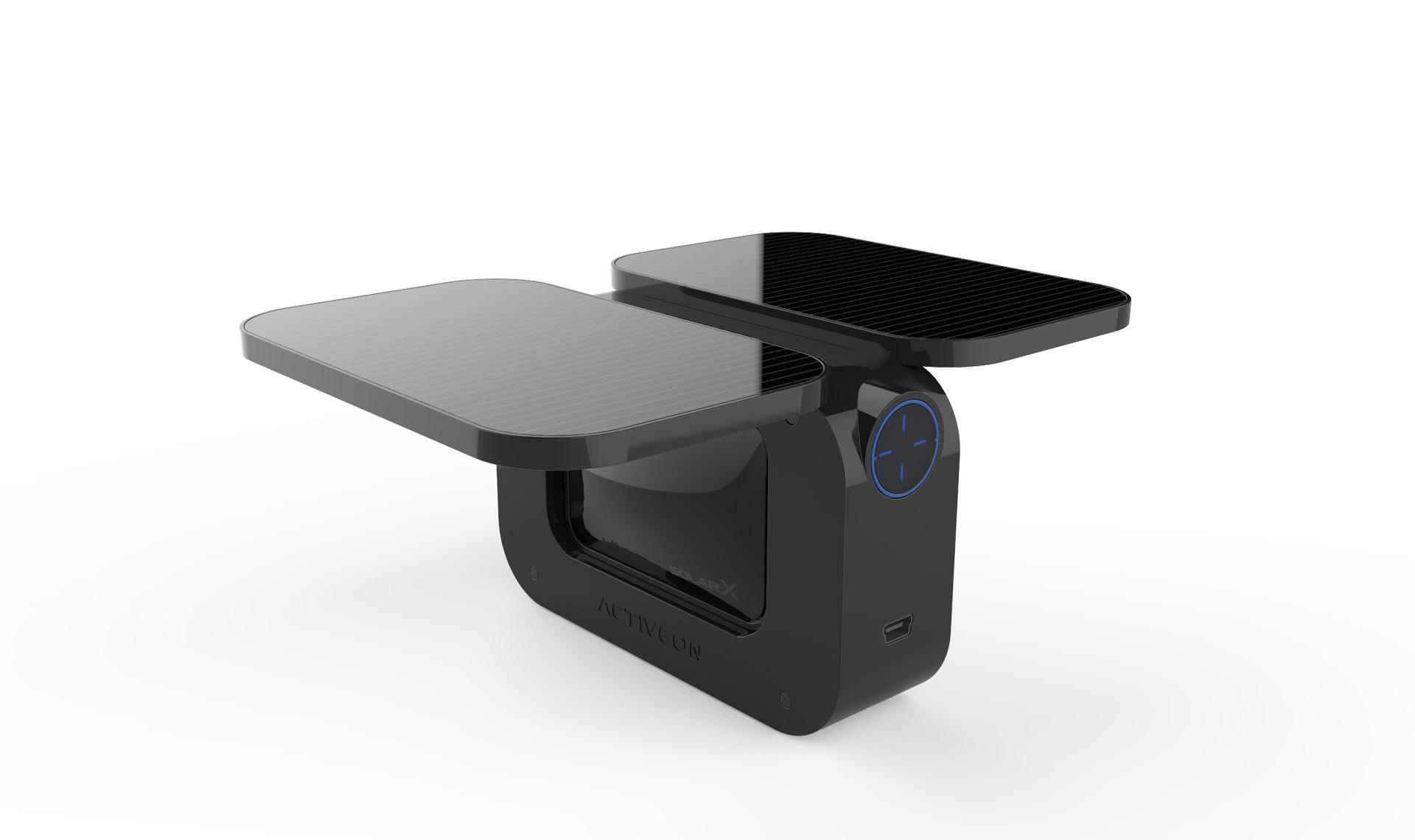这台太阳能运动摄影机一个小时就能把自己充饱