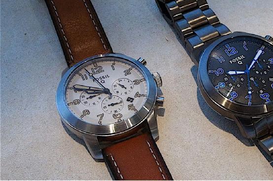 Fossil Q54智能手表上手:高颜值运动追踪器