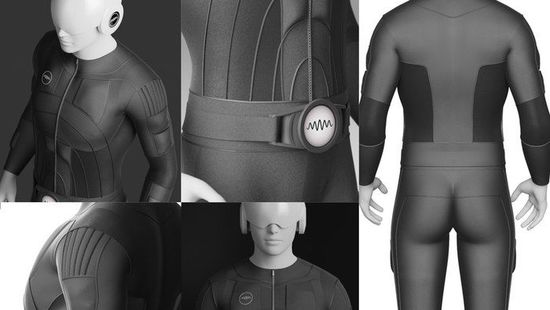 Teslasuit全身动作传感衣: VR专用