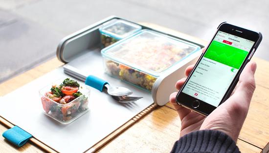 最新午餐盒可追踪营养摄入