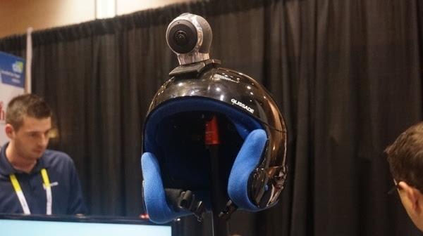【智能界大百科】Allie全景摄像头盔可和vr搭配使用